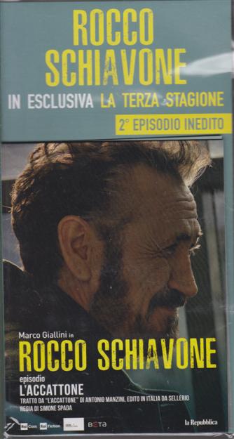 Rocco Schiavone-in esclusiva la terza stagione 2° episodio inedito - Marco Giallini -L'accattone - 30 ottobre 2019 - settimanale