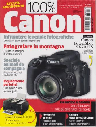 100 X 100 Canon - trimestrale - n. 5 - febbraio - marzo 2019 -