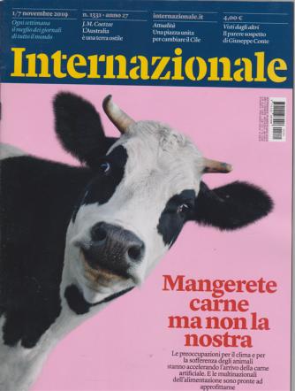 Internazionale - n. 1331 - 1/7 novembre 2019 - settimanale