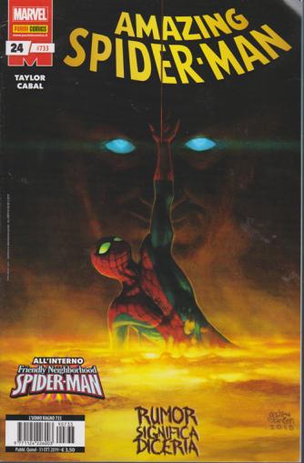 Uomo Ragno - Amazing Spider-Man N. 733 - quindicinale - 31 ottobre 2019 - Rumor significa diceria