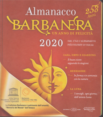 Almanacco Barbanera 2020 - n. 4 - 26/10/2019 -