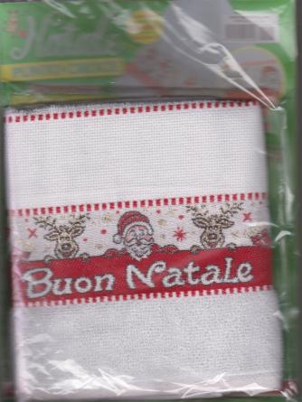 Idee Bambini - Strofinaccio Natalizio - Natale punto croce - n. 41 - mensile
