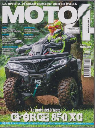 Motoa 4 - Motoslitte In Allegato - n. 160 - bimestrale - novembre - dicembre 2019 - 2 riviste