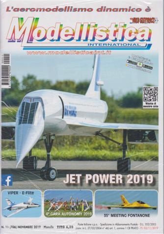 Modellistica  international - n. 11 - novembre 2019 - mensile