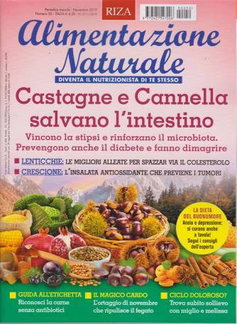 Alimentazione naturale - n. 50 - mensile - novembre 2019 -