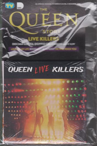 Gli speciali musicali di Sorrisi n. 33 - 5 novembre 2019 - The Queen story - Live killers - decima uscita - doppio cd + libretto