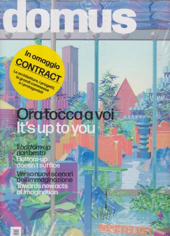 Domus - + Domus contract - n. 1040 - novembre - dicembre 2019 - mensile - 2 riviste