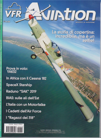 Vfr Aviation - n. 53 - novembre 2019 - mensile