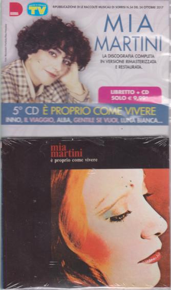 Grandi Raccolte Musicali 4 - n. 5 Cd Mia Martini - E' proprio come vivere - libretto + cd - 12/3/2019
