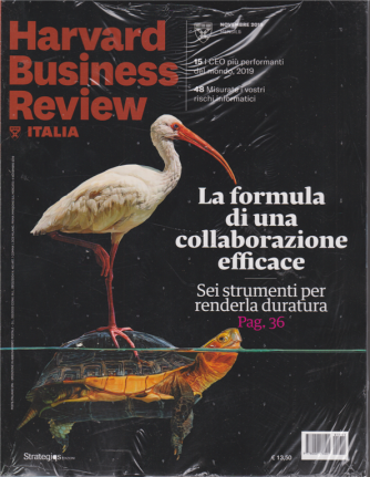 Harward Business Review Italia - n. 11 - novembre 2019 - mensile - 2 riviste