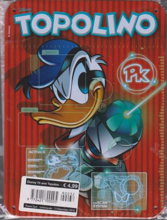 Disney 70 Anni Topolino - Cover Per Il 70Esimo - 13 novembre 2019 - settimanale - n. 32