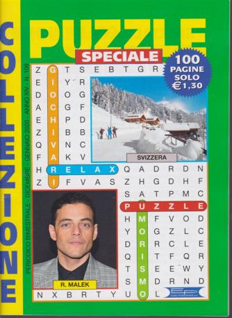 Speciale puzzle collezione - n. 108 - bimestrale - dicembre - gennaio 2020 - 100 pagine