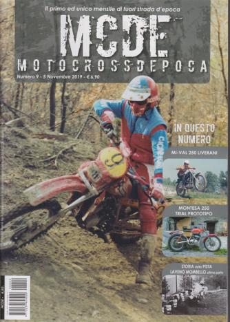 Motocrossdepoca -MCDE - n. 9 - 5 novembre 2019 - mensile