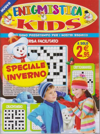 Enigmistica Kids Speciale inverno - n. 33 - bimestrale - novembre 2019