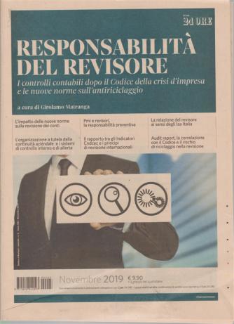 Sindaci & Revisori - La Responsabilità del revisore - n. 5 - novembre 2019 - mensile