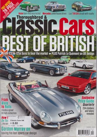Classic Car Uk - n. 90012 - 11/2019 - in lingua inglese