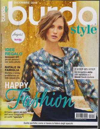 Burda style - n. 12 - dicembre 2019 - mensile