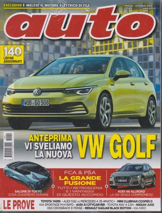 Auto - n. 12 - mensile - dicembre 2019 - + allegato Auto - 2 riviste