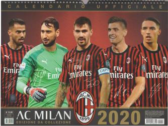Calendario ufficiale 2020 Milan orizontale - cm 43 x 33 con spirale