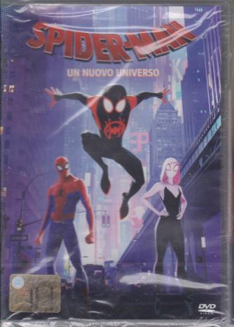 I Dvd Kids Di Sorrisi- Spiderman - Un Nuovo Universo - n. 24 - settimanale - 12/11/2019