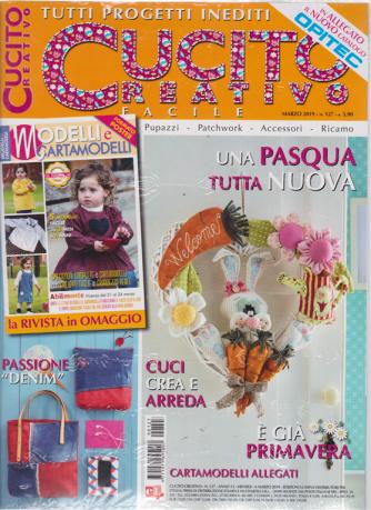 Cucito Creativo - n - 127 - mensile - 6 marzo 2019 - In allegato il nuovo catalogo Opitec