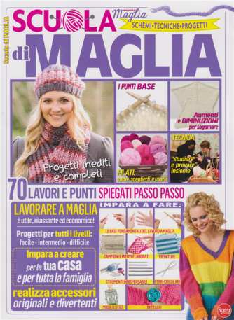 I Miei Punti Maglia - Scuola di maglia - n. 1 - bimestrale - novembre - dicembre 2019 -