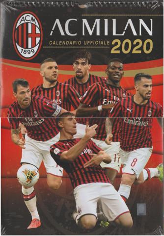 Calendario ufficiale AC MILAN 2020 (verticale) cm. 29 x 42c/spirale