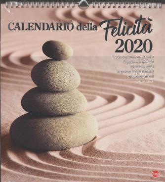 Calendario  della felicità 2020 - cm. 27,5 x 30 c/spirale