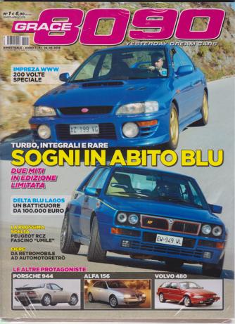 Grace 8090 - + Subaru Impreza da mcrae a Solberg - n. 1 - marzo - aprile 2019 - bimestrale - 2 riviste
