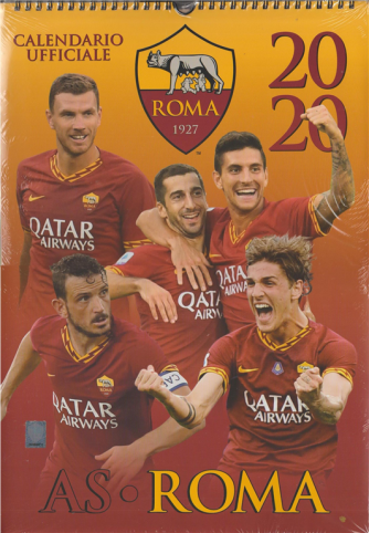 Calendario Ufficiale 2020 AS ROMA - cm. 29 x 42 c/spirale