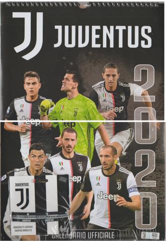 Calendario 2020 JUVENTUS - cm. 29 x 42 c/spirale con Braccialetto