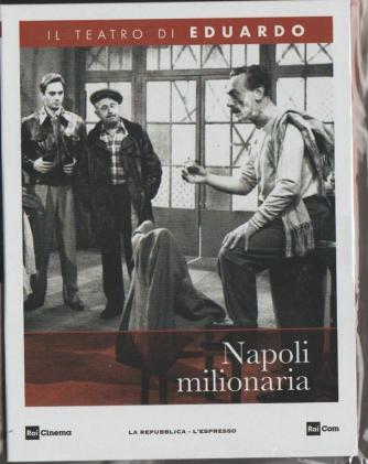 """1° DVD Il teatro di Eduardo """"Napoli Milionaria"""" by La Repubblica/l'Espresso"""