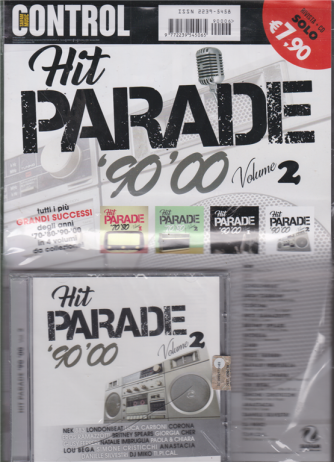 Saifam Music Control Hit Parade 90'00 - volume 2 - rivista + cd
