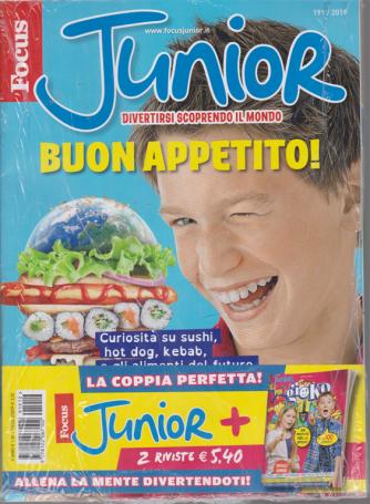 Focus Junior + Junior per gioko - n. 191/2019 - 2 riviste
