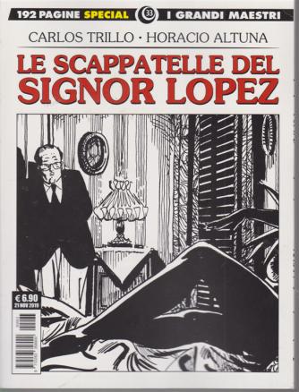 I Grandi Maestri Special - Le Scappatelle Del Signor Lopez - 21 novembre 2019 - n. 33 - mensile - 192 pagine