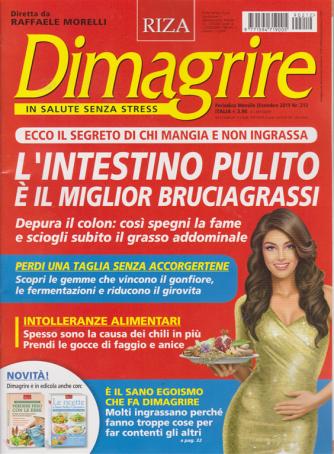 Dimagrire - n. 212 - mensile - dicembre 2019 -