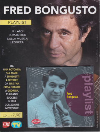 Cd Sorrisi Speciale - Fred Bongusto - Playlist - n. 18 - settimanale - 22/11/2019 -
