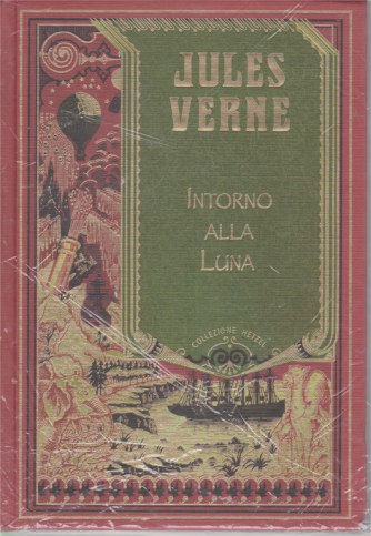Jules Verne - Intorno alla Luna - n. 7 - settimanale - 2/11/2019 - copertina rigida