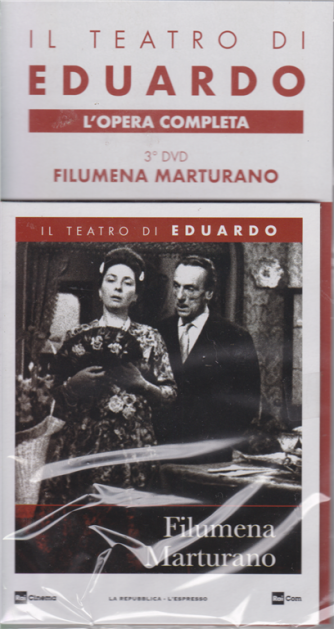 Il Teatro Di Eduardo - Filumena Marturano - 3° dvd - L'opera completa - n. 6 25/11/2019 - settimanale