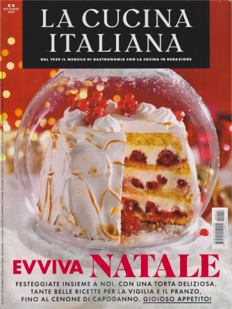 La cucina italiana - n. 12 - dicembre 2019 - mensile