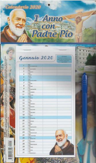 Calendario 2020 Un anno con Padre Pio - cm. 20 x 34 c/penna