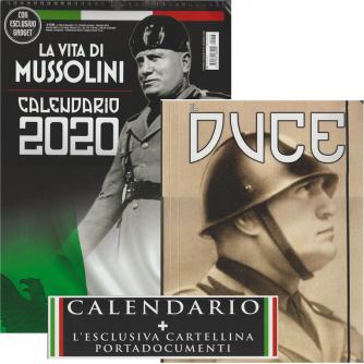 Calendario 2020 La vita di Mussolini - cm. 29 x 42c/spirale + Cartelletta