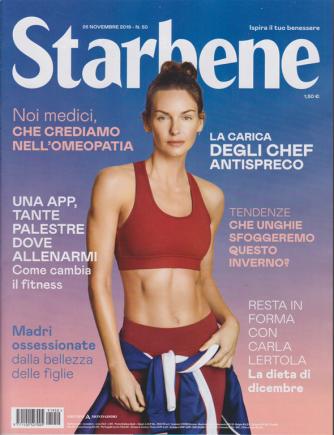 Starbene - n. 50 - 26 novembre 2019 - settimanale -