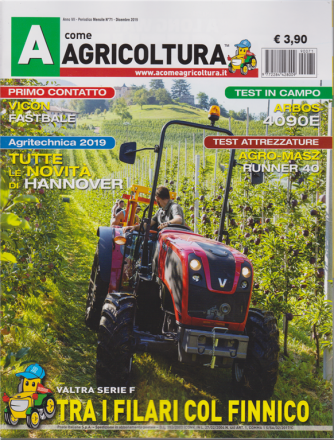 A Come Agricoltura - n. 71 - mensile - dicembre 2019