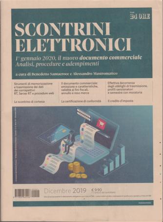Scontrini elettronici - n. 4 - dicembre 2019 - mensile