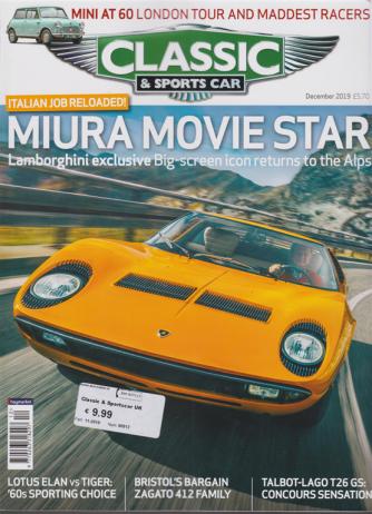 Classic & Sportscar -n. 90012 - 11/2019 - in lingua inglese