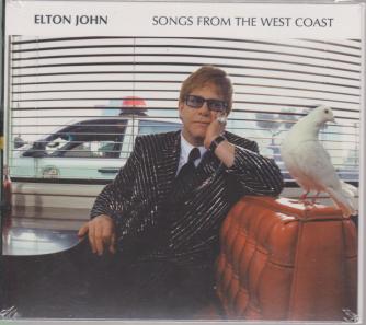 Elton John Cd - Songs From The West coast - n. 27 - settimanale -