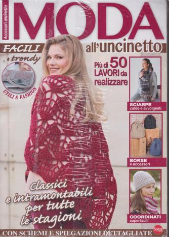 Moda all'uncinetto - n. 13 - bimestrale - dicembre -gennaio 2020 - 2 riviste