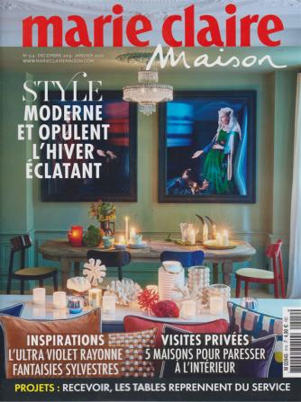 Marie Claire Maison - n. 514 - decembre 2019 - janvier 2020 - in lingua francese