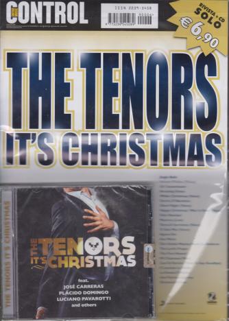 Saifam Music Control Var 08 - The Tenors It's Christmas - n. 6 - rivista + cd